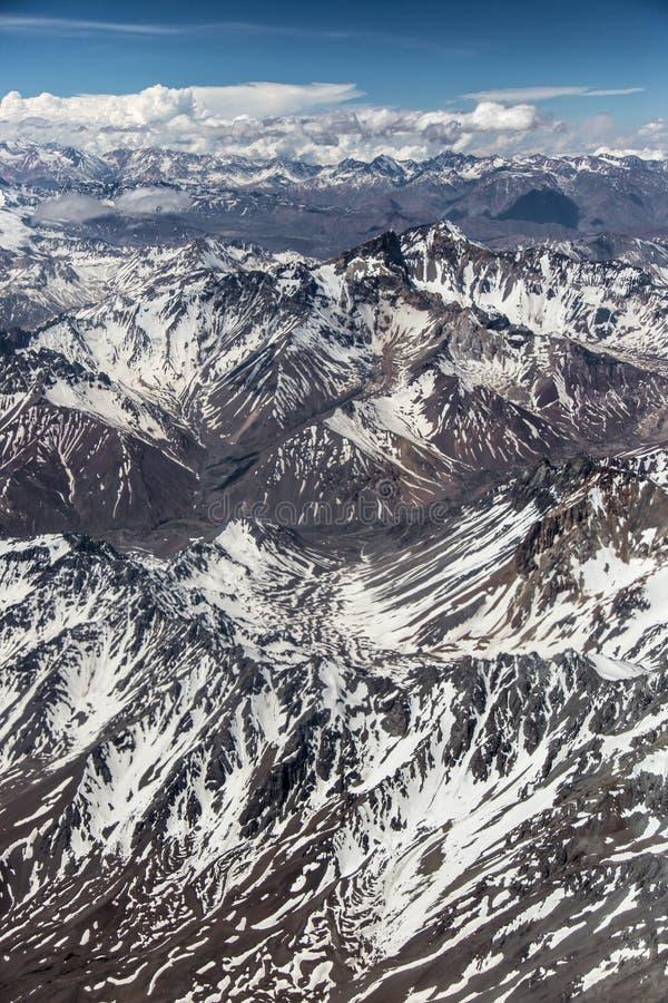 Dos Andes - Chile de Cordilheira - verão imagens de stock royalty free