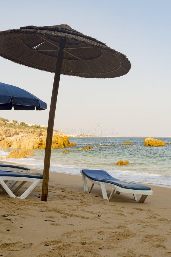 Dos Arrifes strand Algarve Portugal arkivbild
