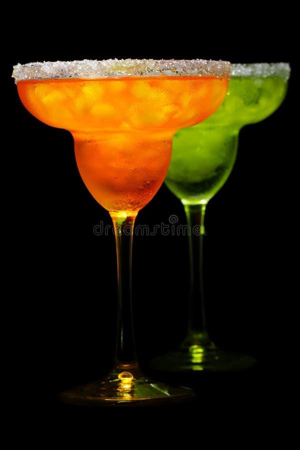 Dos bebidas fotos de archivo