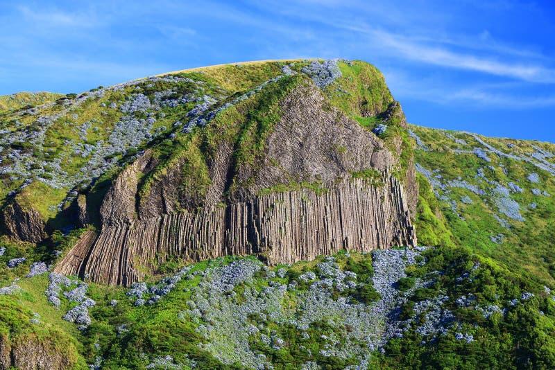 DOS Bordoes di Rocha nell'isola del Flores di estate immagini stock libere da diritti