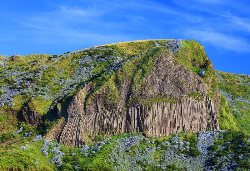 DOS Bordoes di Rocha nell'isola del Flores di estate fotografia stock libera da diritti