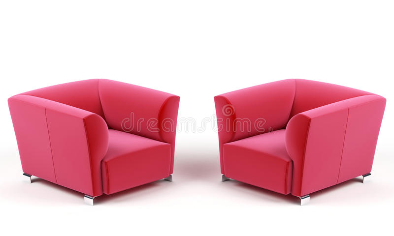 Dos butacas stock de ilustraci n ilustraci n de muebles for Stock de muebles
