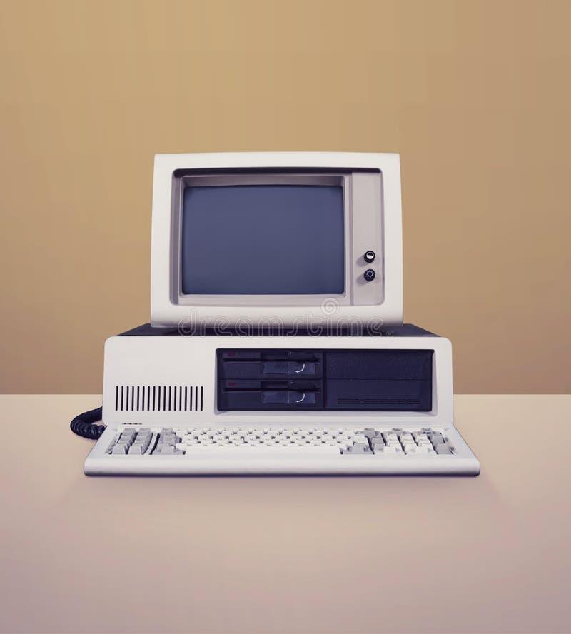 DOS computer royalty free stock photos