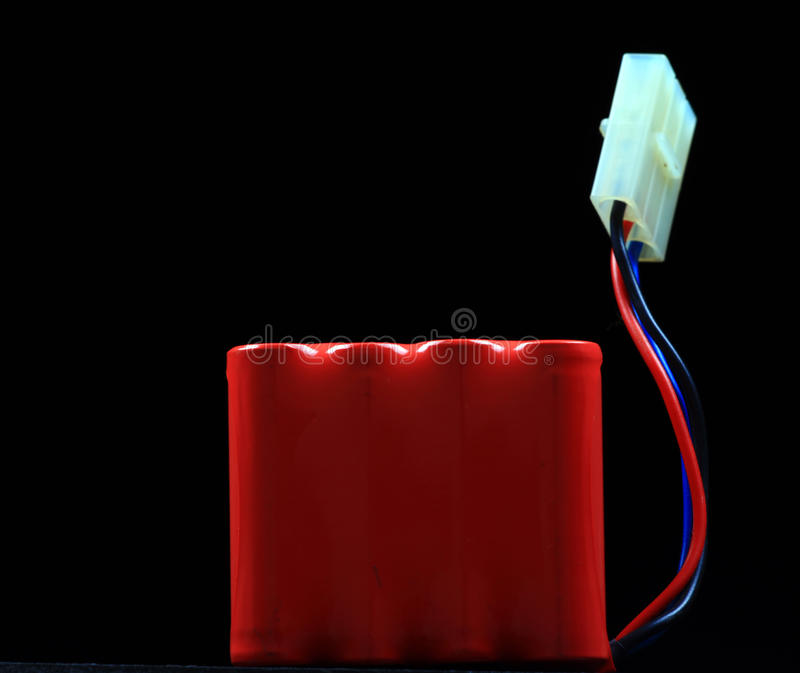 Dos de batterie de Recharegeable photographie stock libre de droits
