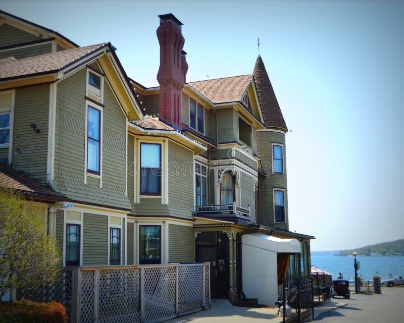 Dos de House Victorian Mansion de Baker photos stock