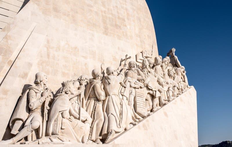 DOS de Padrão Descobrimentos, monument aux découvertes, célèbres et image stock
