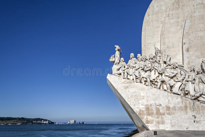 Dos Descobrimentos Belém Lisboa de Padrao fotos de stock