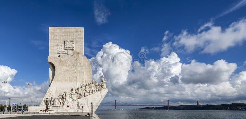 DOS Descobrimentos Lisboa de Padrão imagen de archivo libre de regalías