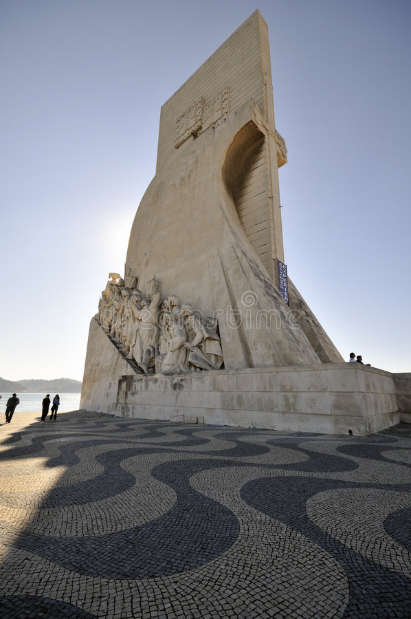 DOS Descobrimentos, Lisboa, Portugal de Padrao fotografía de archivo libre de regalías