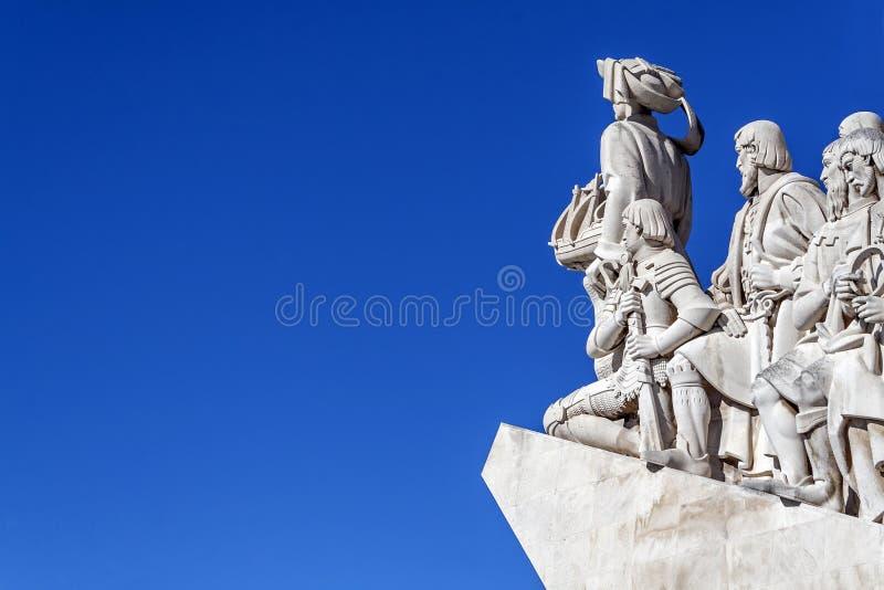 DOS Descobrimentos Lisbonne de Padrao de détail images libres de droits