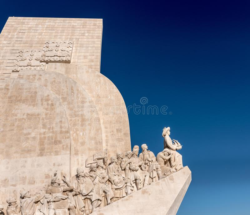 DOS Descobrimentos, monumento a los descubrimientos, famosos de Padrão y foto de archivo libre de regalías