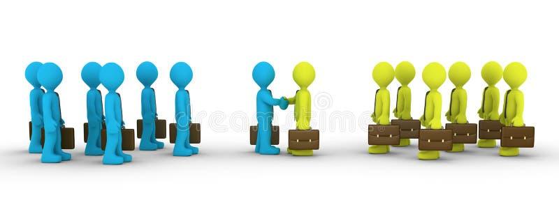 Dos equipos de oposición llegan al acuerdo libre illustration