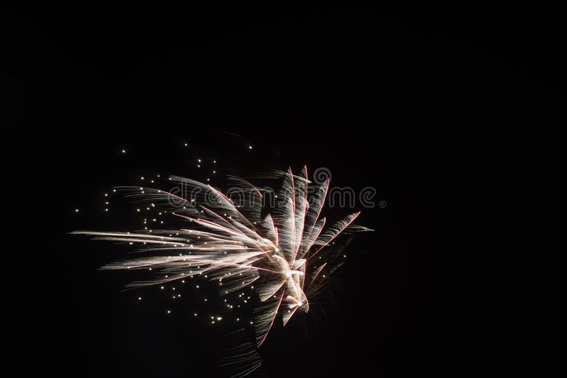 2018/2019 dos fogos de artifício nos Países Baixos foto de stock royalty free