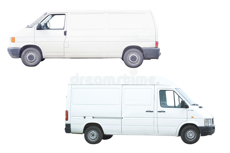 Dos furgonetas fotos de archivo