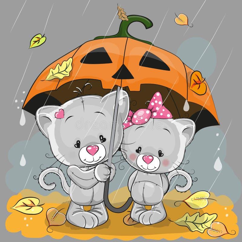Dos gatitos libre illustration