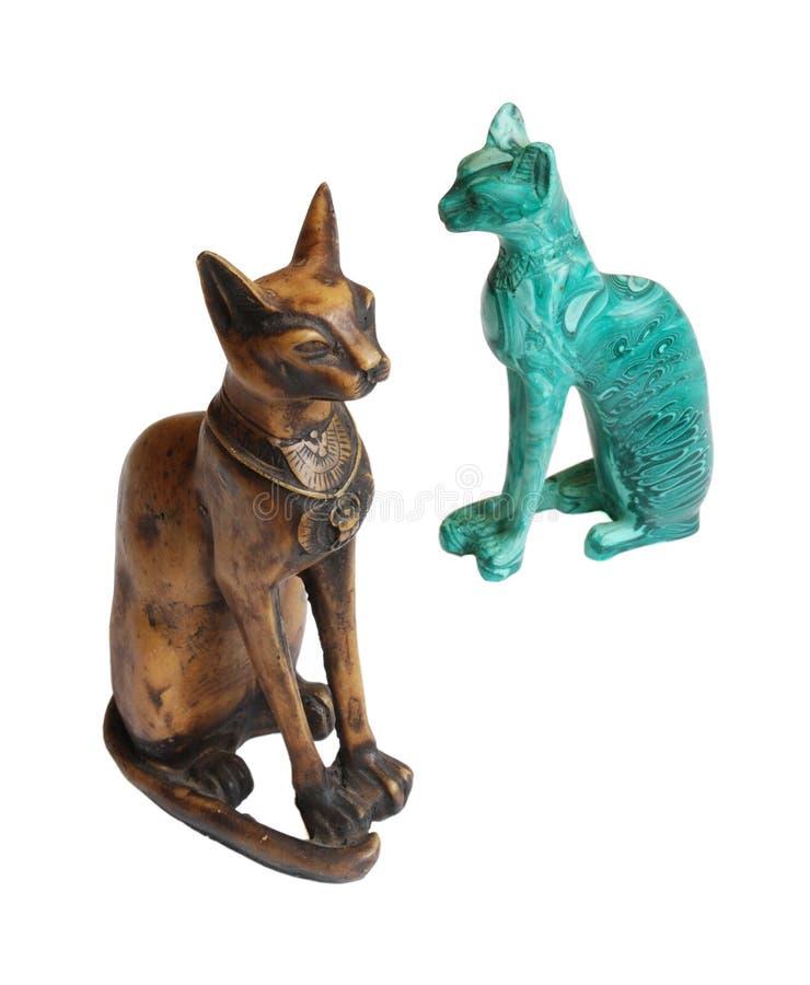 Dos gatos fotografía de archivo libre de regalías