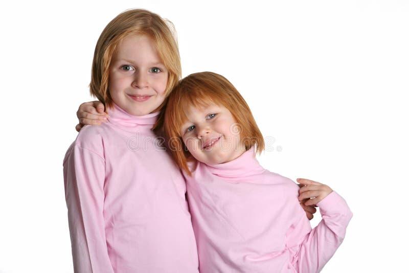 Dos hermanas imagenes de archivo