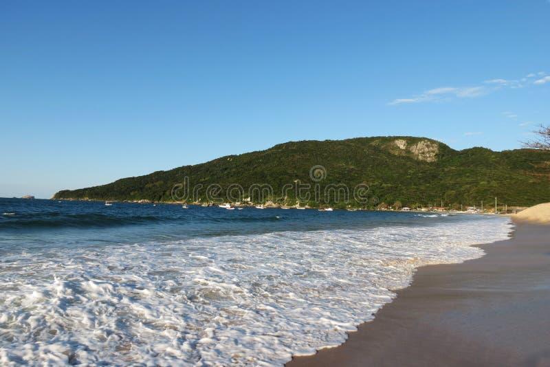 DOS Ingleses de Praia - polis de ³ de FlorianÃ, Santa Catarina - Brésil photo stock
