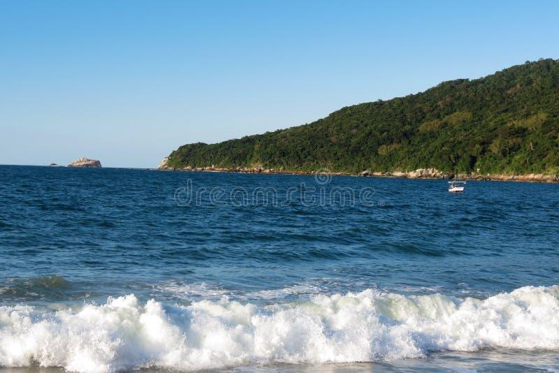 DOS Ingleses de Praia - polis de ³ de FlorianÃ, Santa Catarina - Brésil photos stock