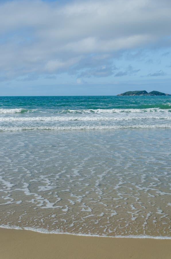 DOS Ingleses, Florianopolis de Praia photographie stock libre de droits