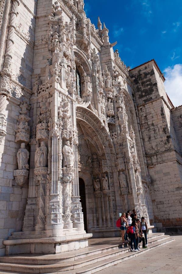 DOS Jerónimos de Monastero foto de archivo