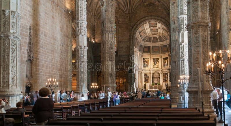 DOS Jerónimos de Monastero foto de archivo libre de regalías