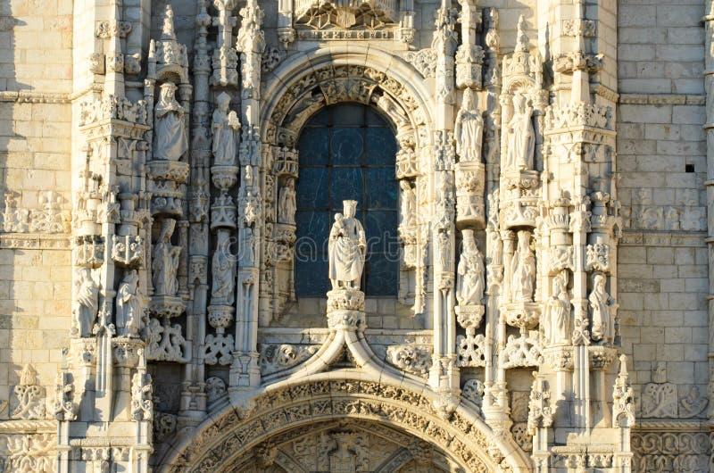 Dos Jeronimos de Mosteiro foto de stock