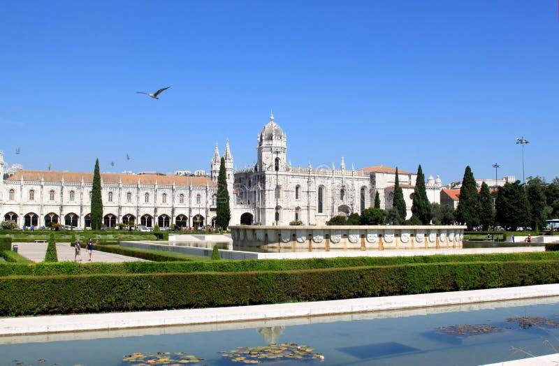 Dos Jeronimos de Mosteiro, Belém, Portugal imagem de stock
