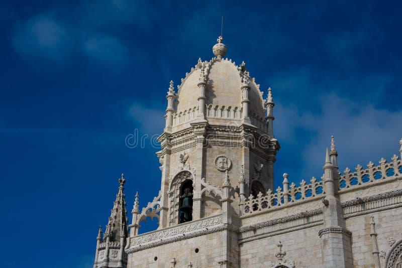 Dos Jeronimos de Mosteiro do monastério de Jeronimos ou do monastério de Hieronymites foto de stock
