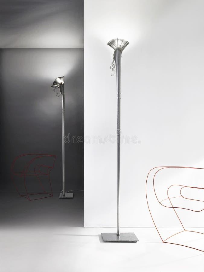 Dos lámparas imagen de archivo libre de regalías