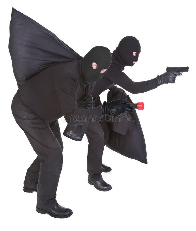 Dos ladrones imagen de archivo