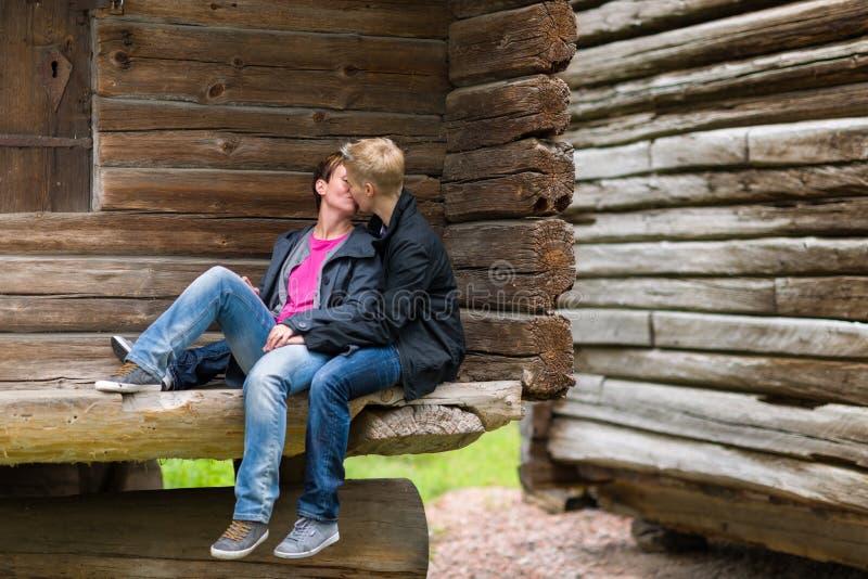 Dos lesbianas imagen de archivo