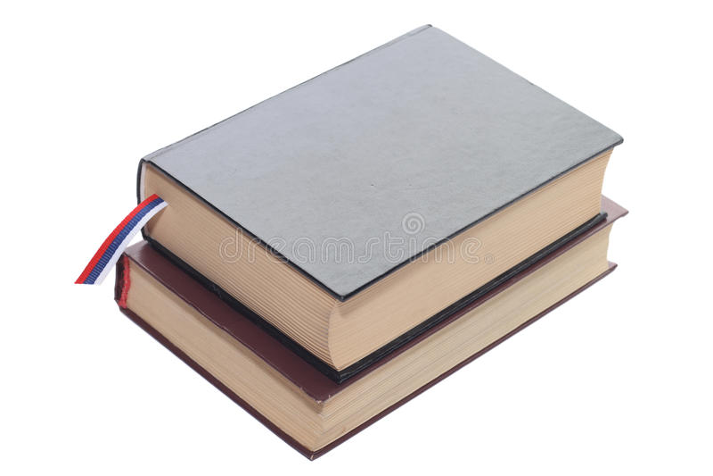 Dos libros fotografía de archivo libre de regalías