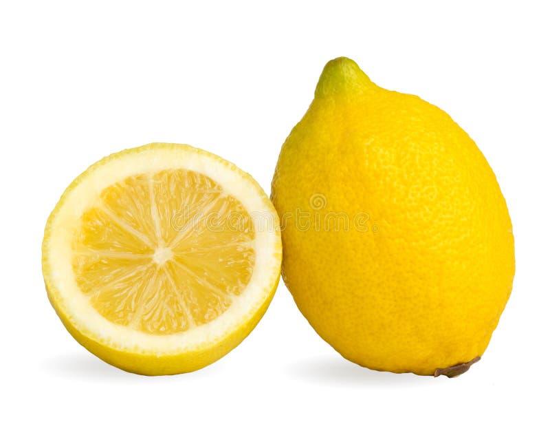 Dos limones foto de archivo libre de regalías