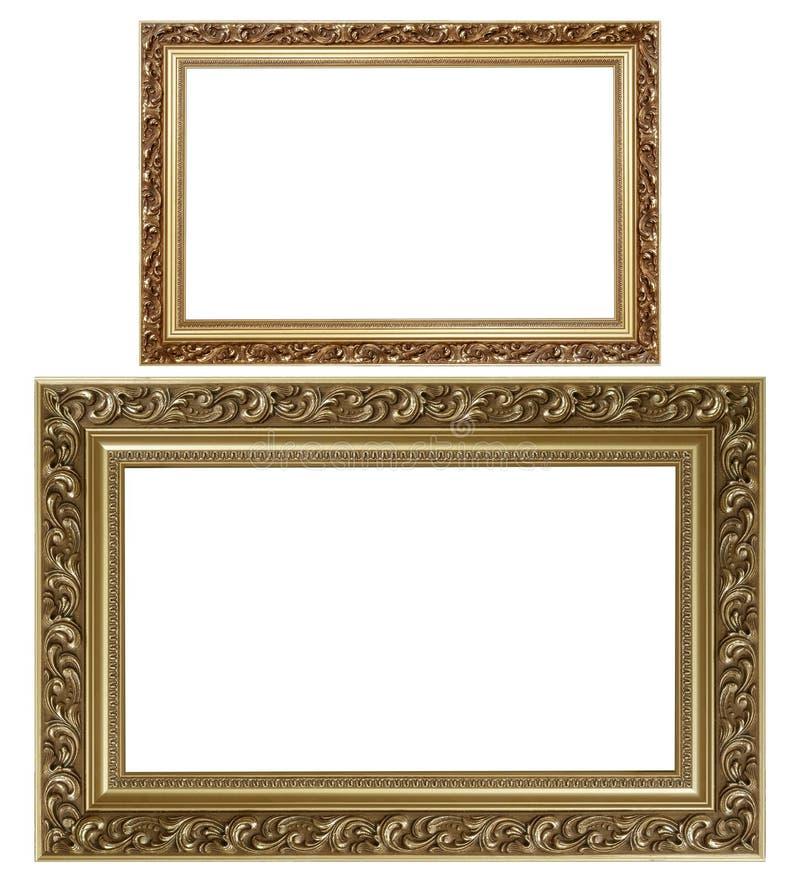 Dos marcos fotografía de archivo libre de regalías