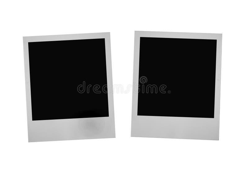 Dos marcos de la foto imágenes de archivo libres de regalías