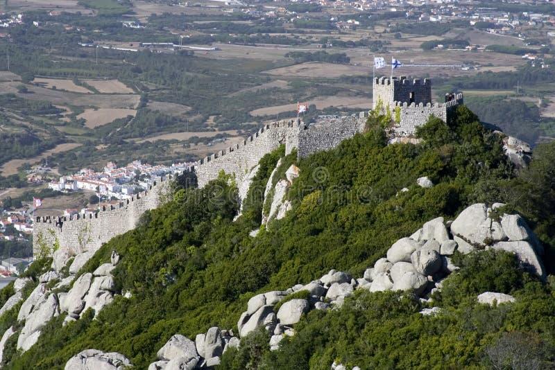 Dos Mouros de Castelo imagens de stock
