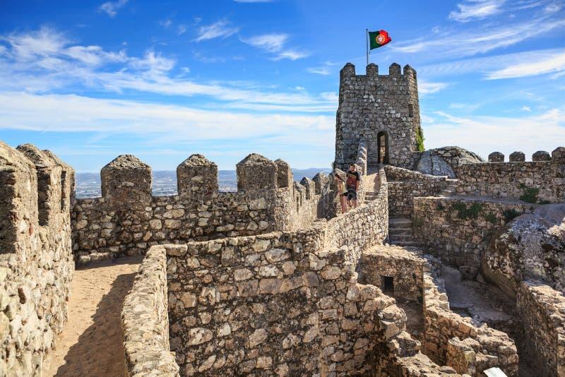 Dos Mouros de Castelo fotos de stock royalty free