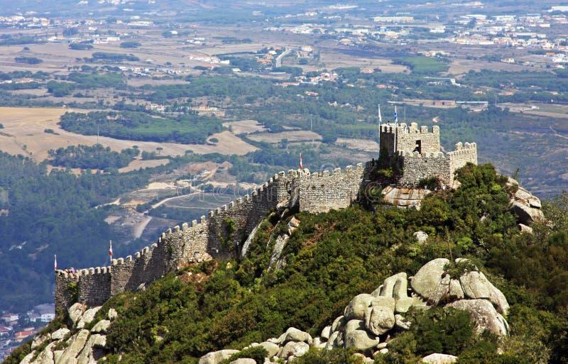 DOS Mouros di Castelo fotografie stock libere da diritti