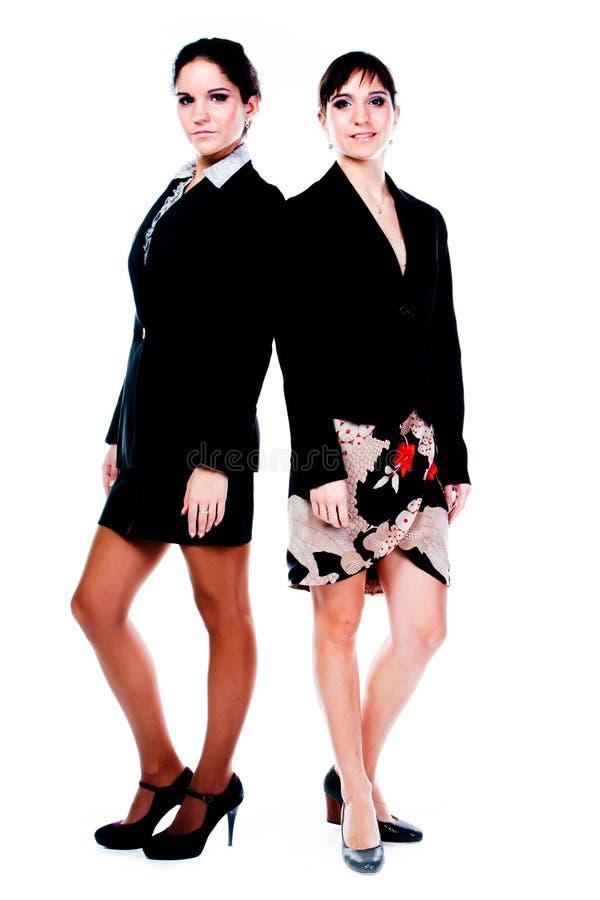 Dos mujeres de negocios imagen de archivo libre de regalías