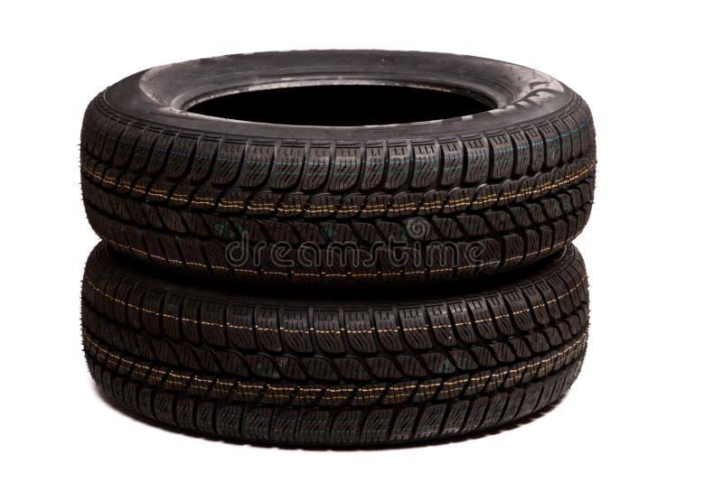 Download Dos Neumáticos De Coche Aislados Imagen de archivo - Imagen de automóvil, caucho: 7285913