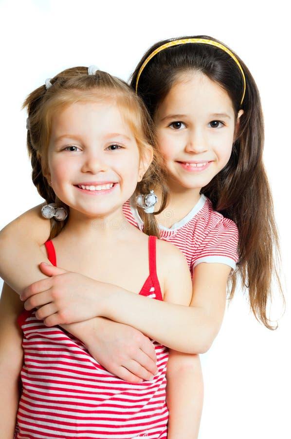Dos niñas imagen de archivo