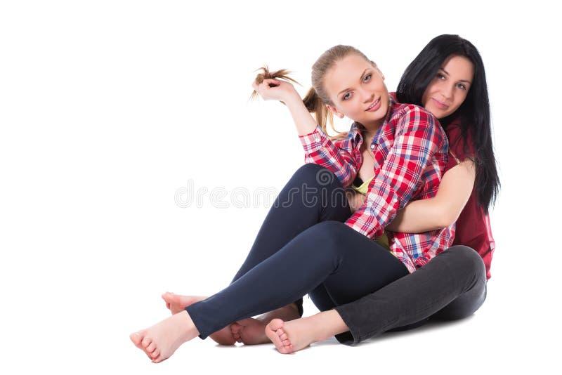 Dos novias bonitas imagen de archivo libre de regalías