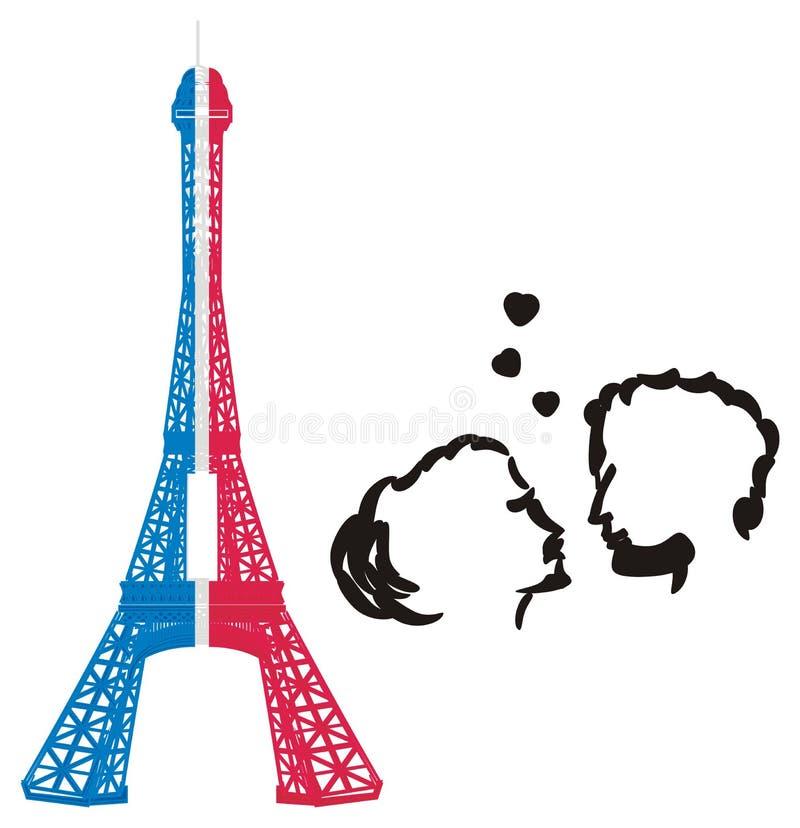 Dos objetos de París libre illustration