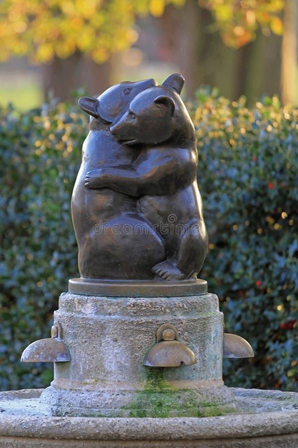 Dos osos Londres imagen de archivo libre de regalías