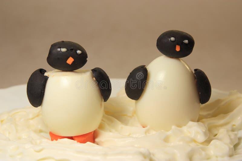 Dos pingüinos imágenes de archivo libres de regalías