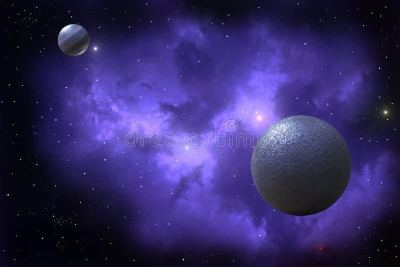 Dos planetas libre illustration