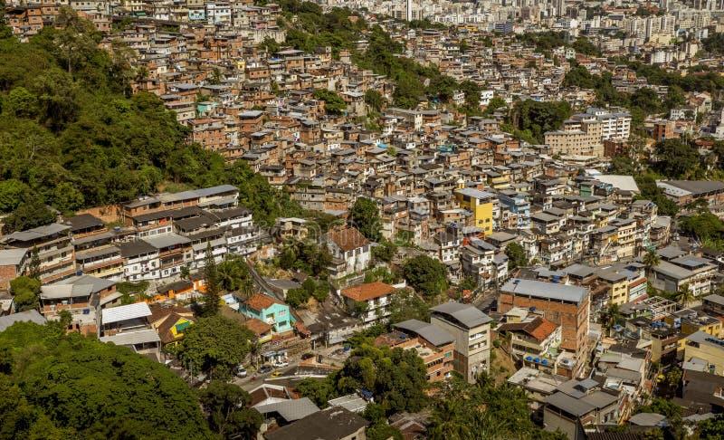 DOS Prazeres στο Ρίο ντε Τζανέιρο, Βραζιλία Morro Favela στοκ εικόνες με δικαίωμα ελεύθερης χρήσης
