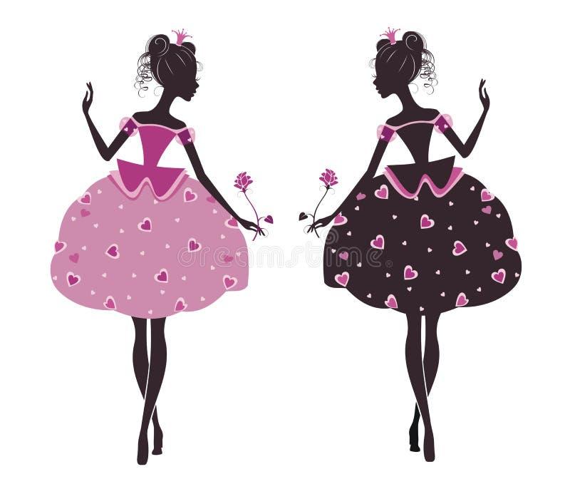 Dos princesas libre illustration