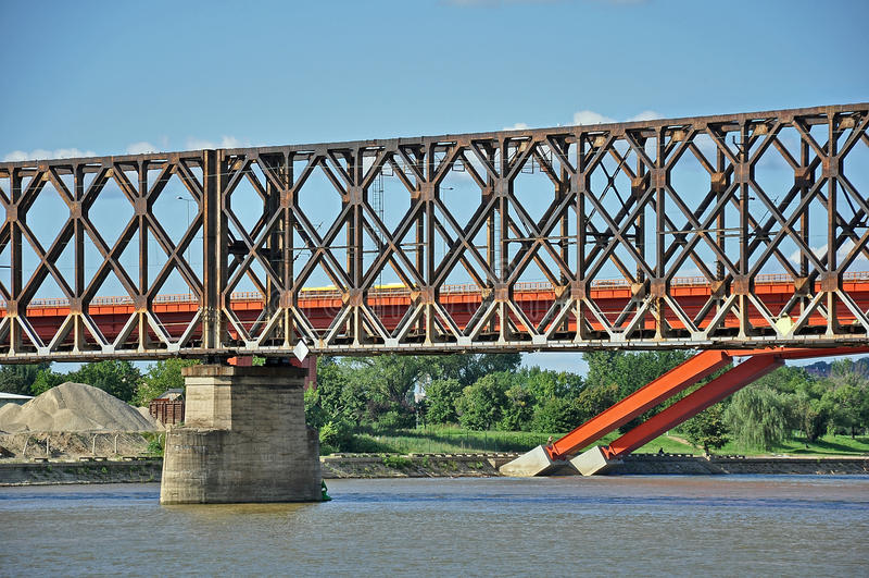 Dos puentes imágenes de archivo libres de regalías